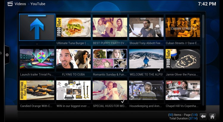 kodi Youtube Addon