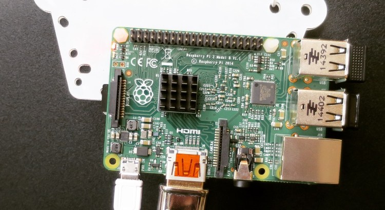 OmnieVESA raspberry pi mount & temporary paperclips