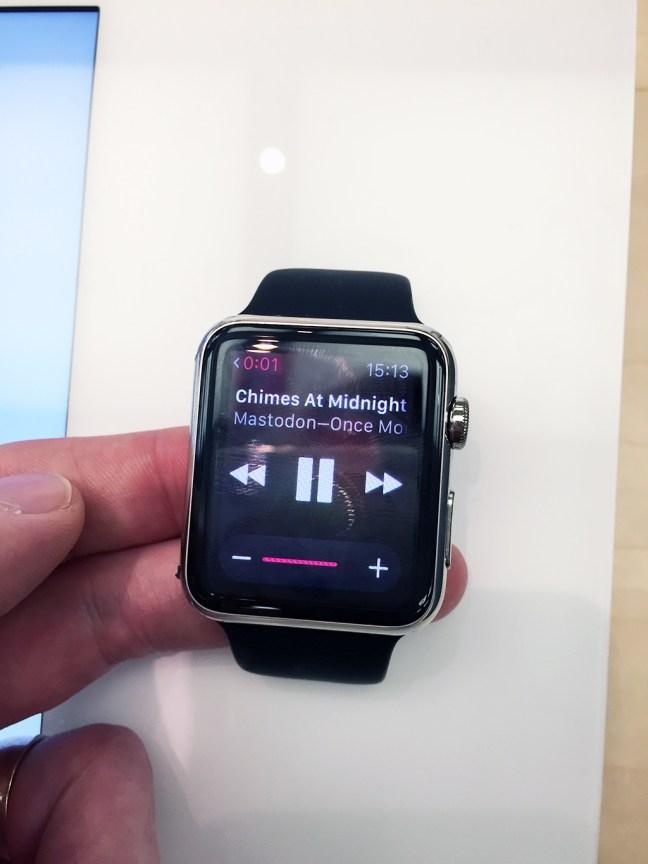 Apple Watch iTunes