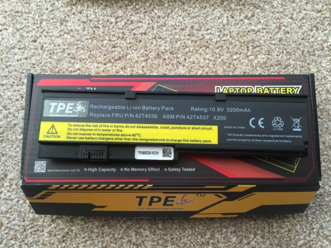 7800mah mashed battery terminals