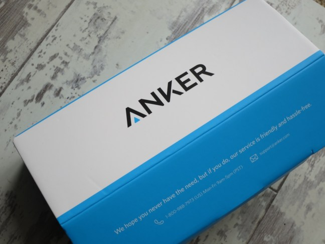Anker Power Core 20100 packaging