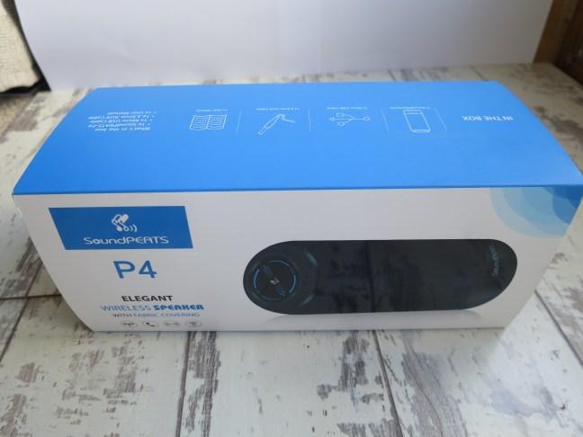 SoundPEATS P4 Packaging