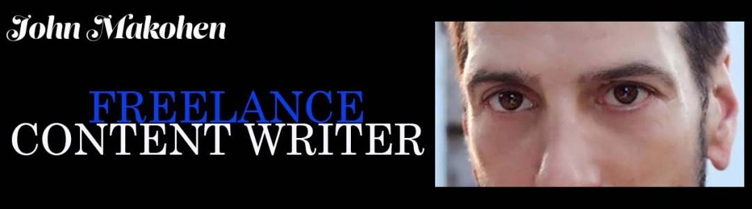john makohen freelance content writer logo