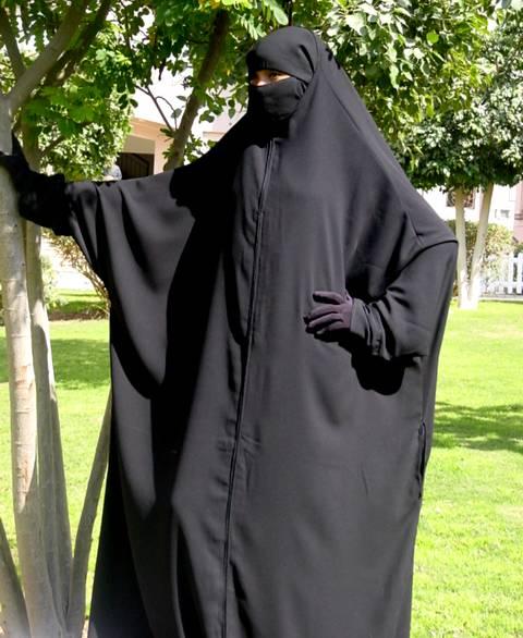 abaya ras or head abaya