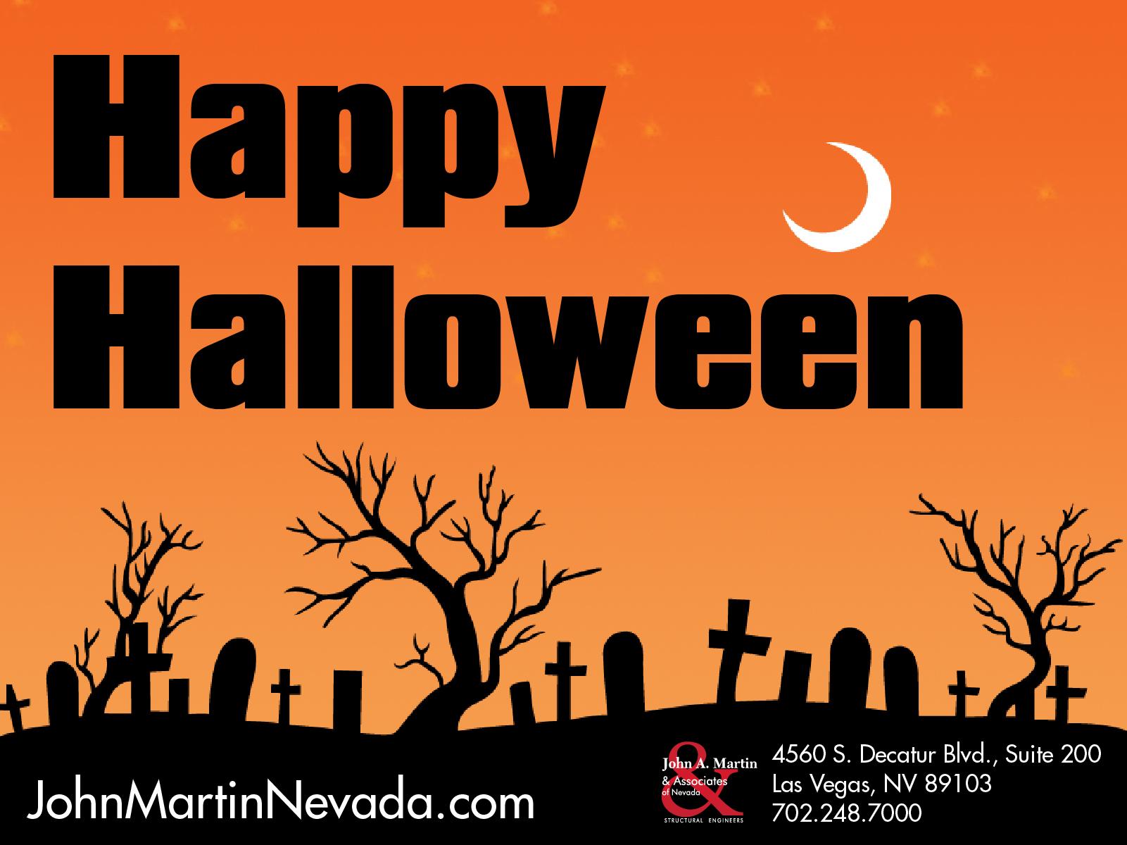 John A. Martin & Associates of Nevada - Happy Halloween