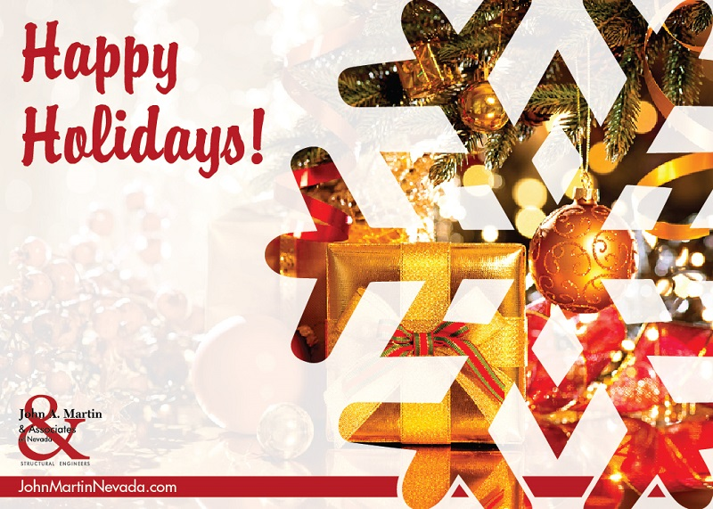 John A. Martin Associates Happy Holidays Las Vegas
