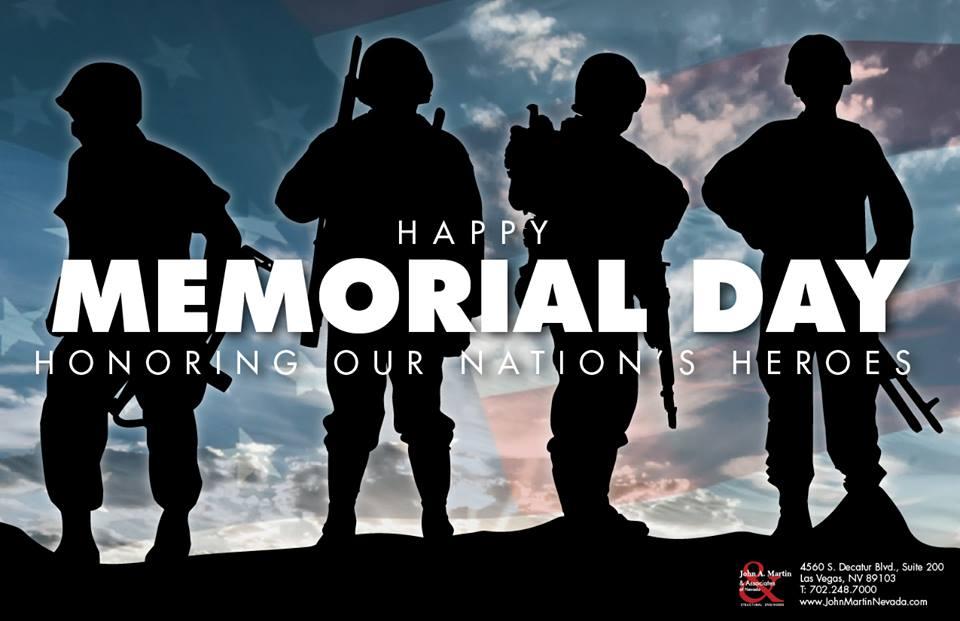 John A. Martin & Associates of Nevada - Happy Memorial Day