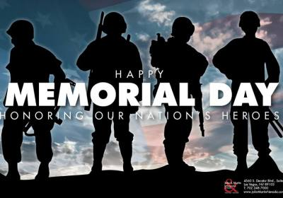 John A. Martin & Associates of Nevada - Happy Memorial Day