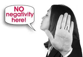 advice stay away from negative people