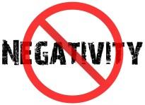 advice-no negativity