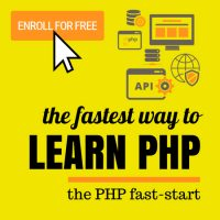 PHP Fast Start