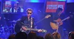 Johnny Hallyday concert RTL 30 mai 2011
