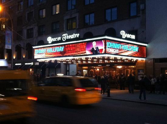 Johnny Hallyday Beacon Theatre New York 2014