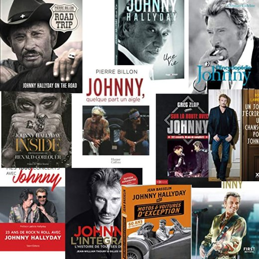 Livres sur Johnny Hallyday
