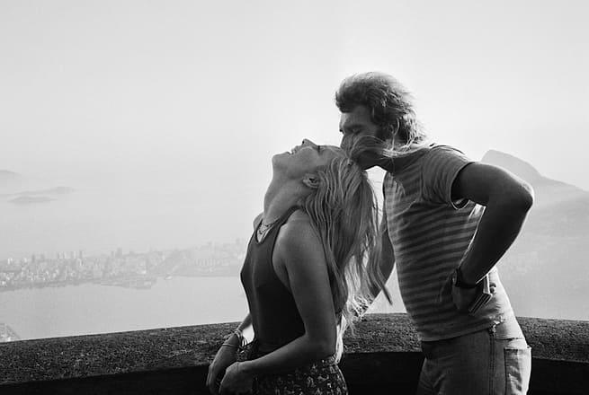 Johnny Hallyday et Sylvie Vartan à Rio de Janeiro