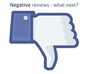 Addressing Negative Consumer Content