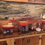 Breakfast buffet at Mad River Barn