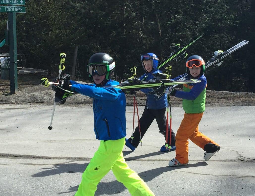 Sugarbush's happy skiers