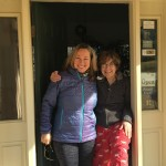 Georgie Jet with VT aunt Anna at Vare Real Estate