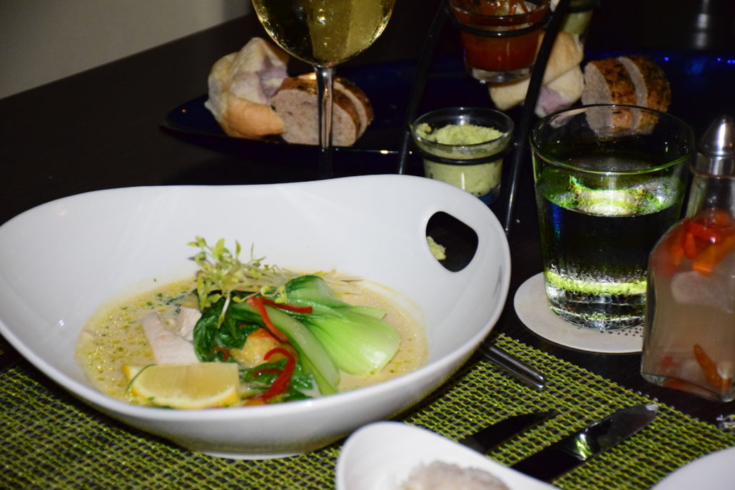 The Makai Catch: fresh fish of the day and lemongrass rice