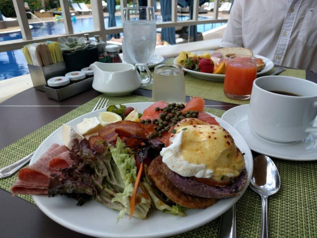 My hand-picked breakfast items from the Kea Lani buffet