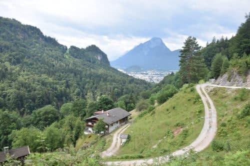 Kufstein hike view