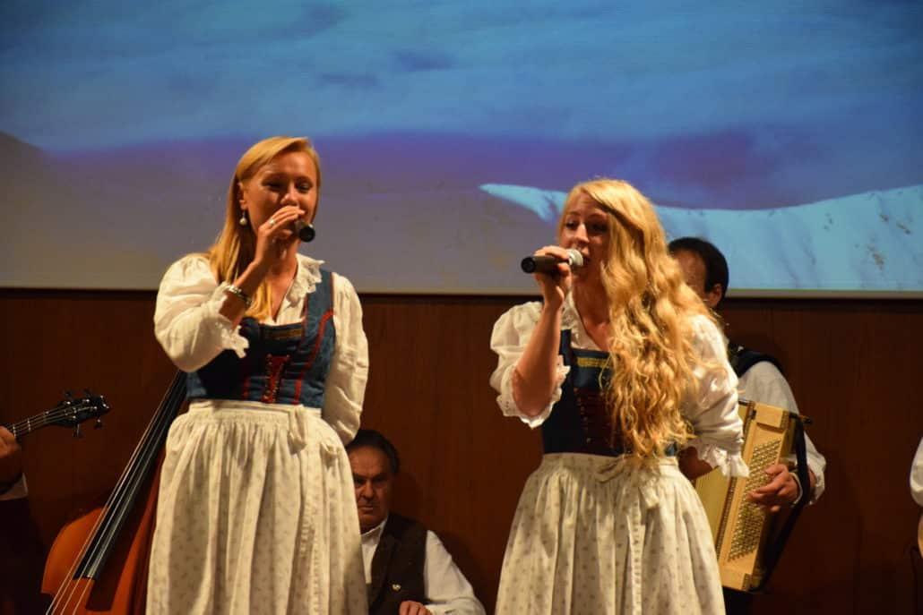 Ladies sing traditional songs