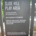 Slide Hill sign