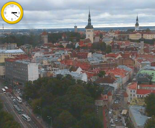 Screenshot from tallinn.info/webcam
