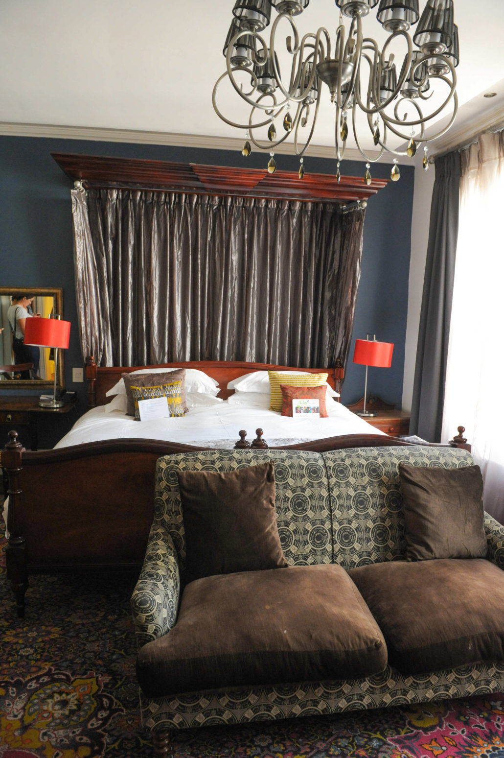 A deluxe room at the Oude Werf Hotel, Stellenbosch