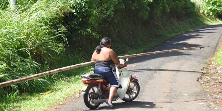Cook Islands scooter