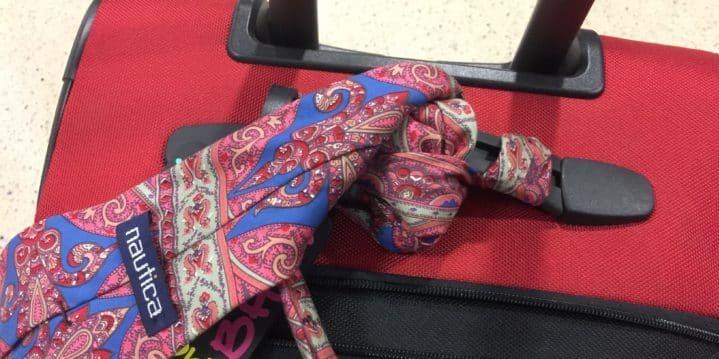 Tie on bag