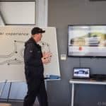 Jeff teaching car dynamics