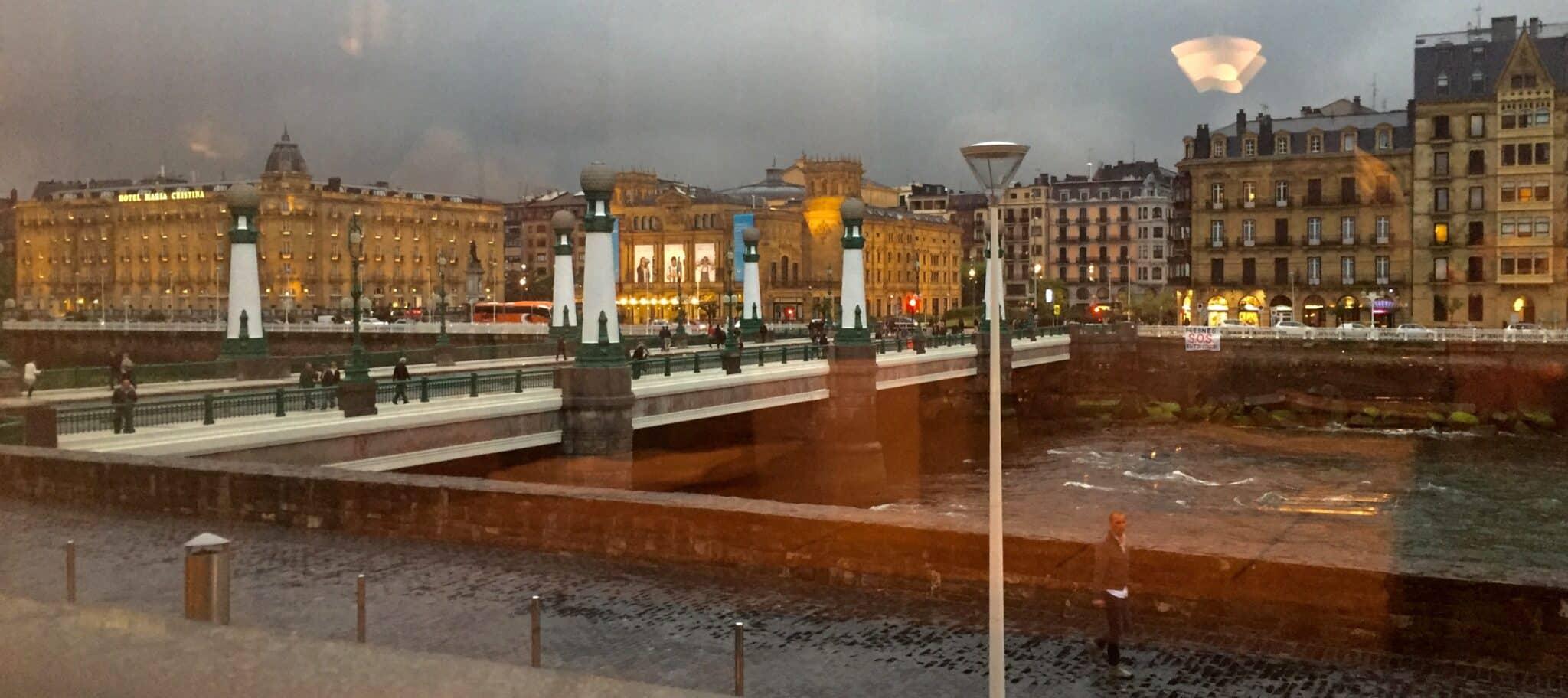 San Sebastián from inside Nie Neu