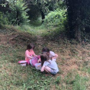Children foraging