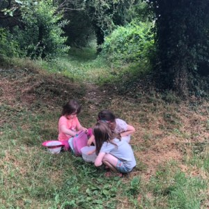 Children foraging