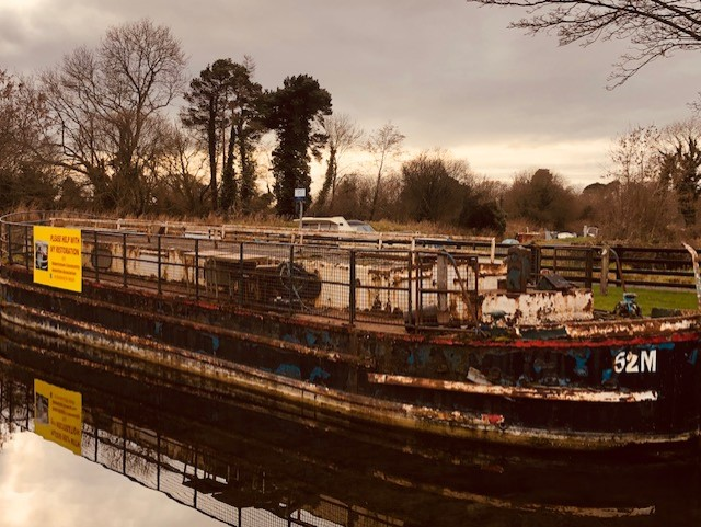 I'll tell you a story about the 52M Canal Barge