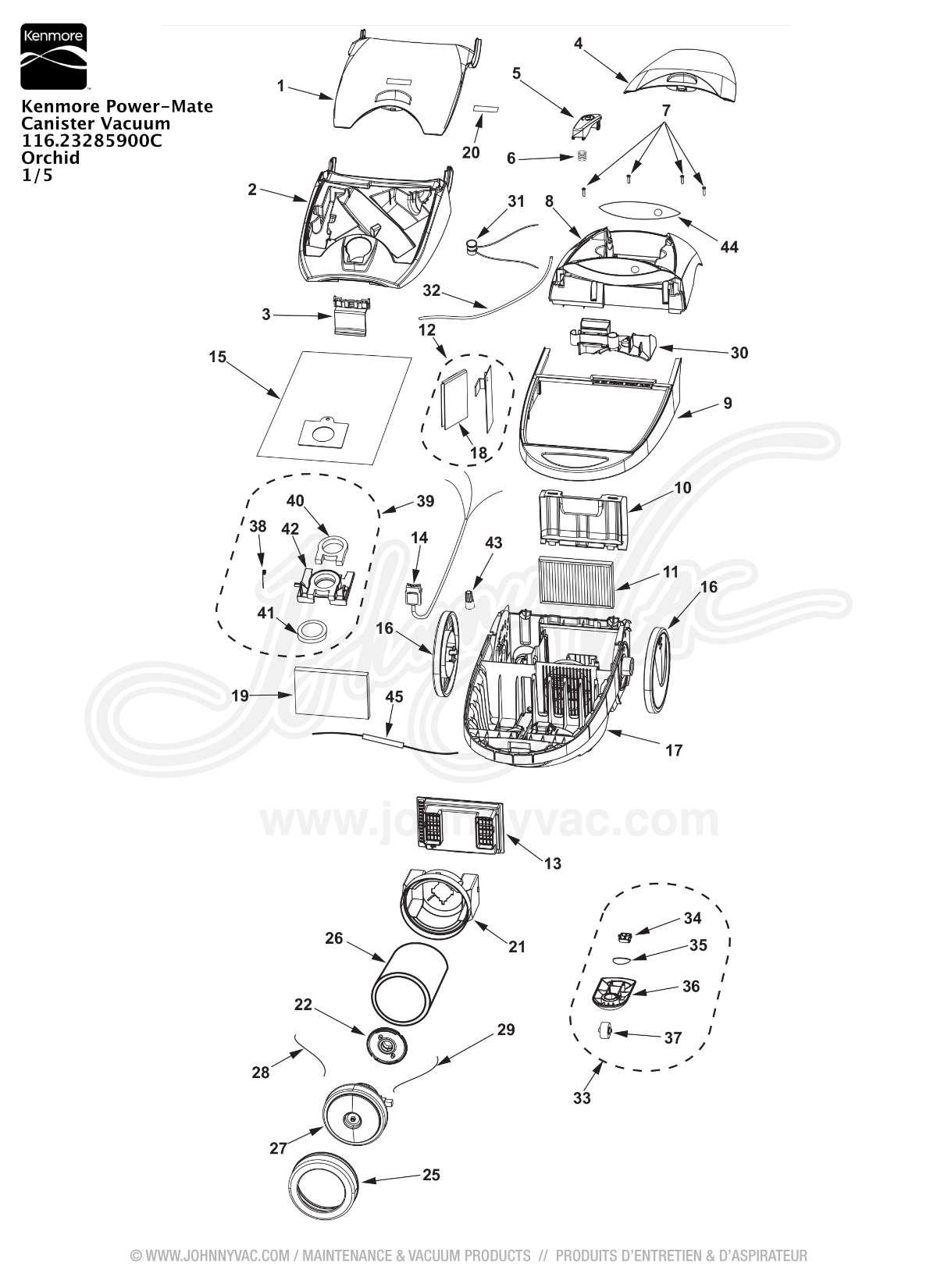 Wiring Diagram For Kenmore Vacuum