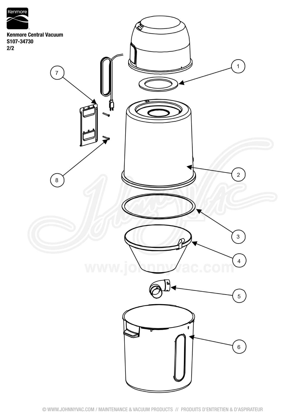 Kenmore Central Vacuum Wiring Diagram
