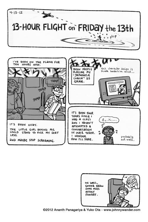 Japan Travelogue, 2012, by Yuko Ota