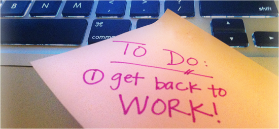 Image result for get back to work