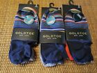3) 3 Packs Gold Toe Mens Sta-Cool Frankie Low Show Tab Socks Fit Shoe Size 8-11