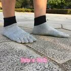 Mens Toe Socks Low Cut Mesh Breathable Five Fingers Socks Non-slip Socks 6L