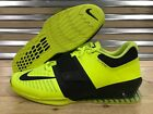 Nike Romaleos 3 Weightlifting Crossfit Trainer Shoes Volt Black SZ (852933-700)