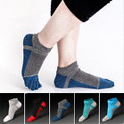 US 6 Pairs Mens five finger toe Socks Cotton Ankle Casual Sports Low Cut Breathe