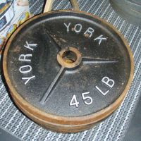 SCORED! 540lbs Olympic Weight Plates for $50
