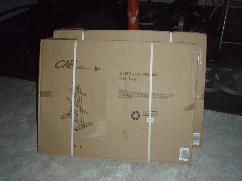 Cap Barbell RK1 Standard Plate Rack Box