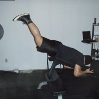 Neck Training & Reverse Hypers Without Machine: Tuesday, February 28, 2012