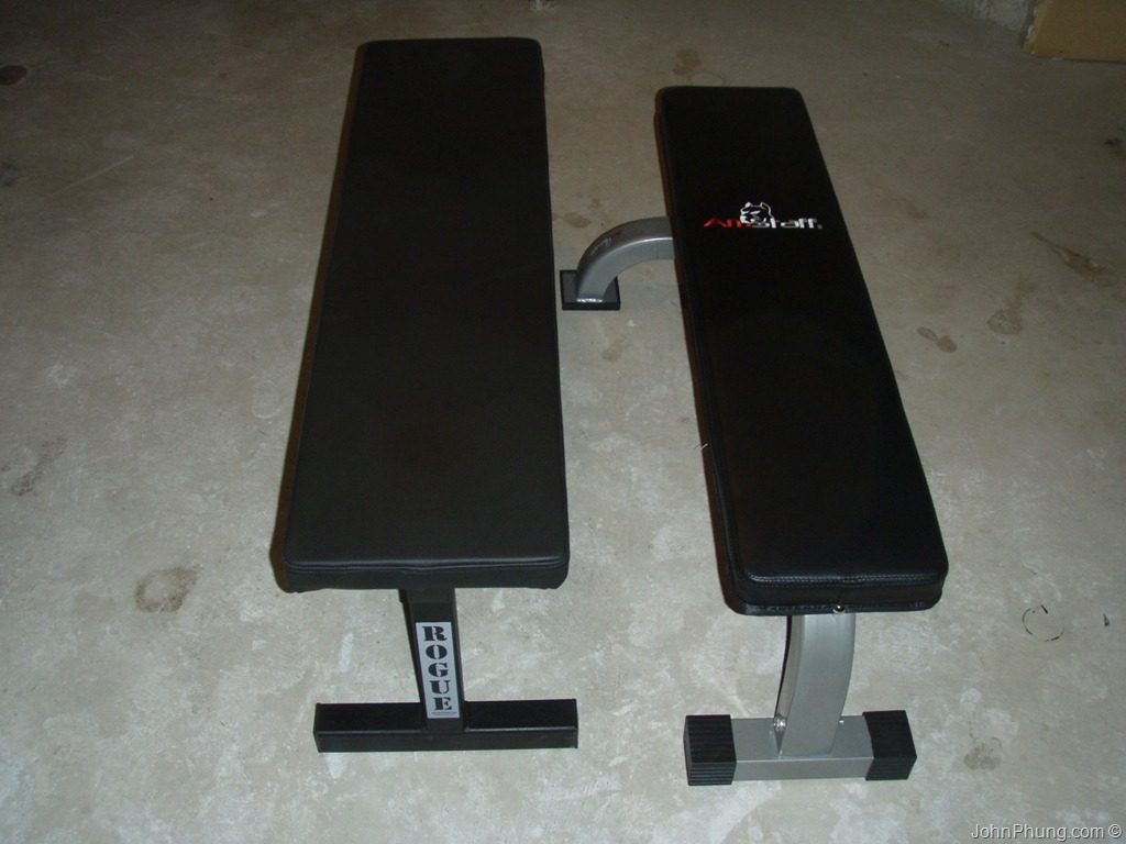 Rogue Fitness Flat Utility Bench Review John Phungrogue