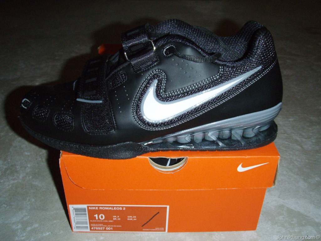 b744180ad Nike Romaleos 2 Weightlifting Shoes Review